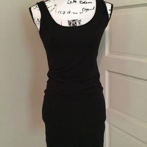 H&M Basic Black Bodycon Tank Dress Stretch